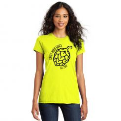 Craft Beer Girls Logo Womens Fitted Concert Tee