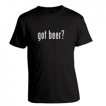 Got Beer? Black Tee