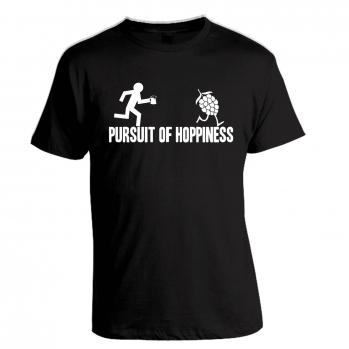 suit of Hoppiness Black Tee
