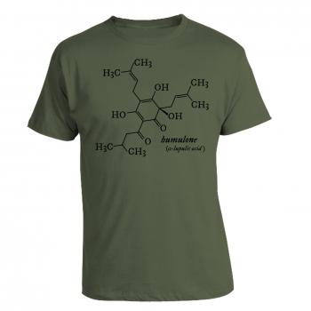 Humulone Molecule T-shirt