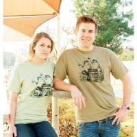 Beer Drinking Frogs Graphic Tee