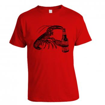 Lobster - Red T-shirt