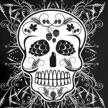 Craft Beer Sugar Skull Graphic Tee