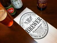 Home Brewer Seal Bar Towel
