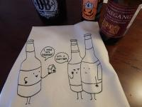 Crafty Beer Bar Towel