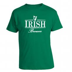 Irish Brewer Green St. Patrick's Day T-Shirt