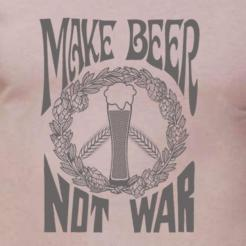 Make Beer Not War Womens Flowy Tank