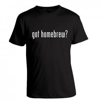 Got Homebrew? Black Tee